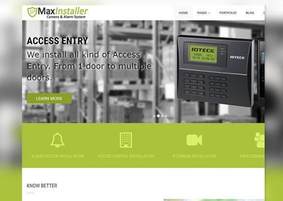 Green Security Dealer Template
