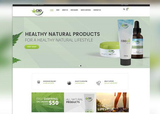 CBD Hemp Co Medical Website