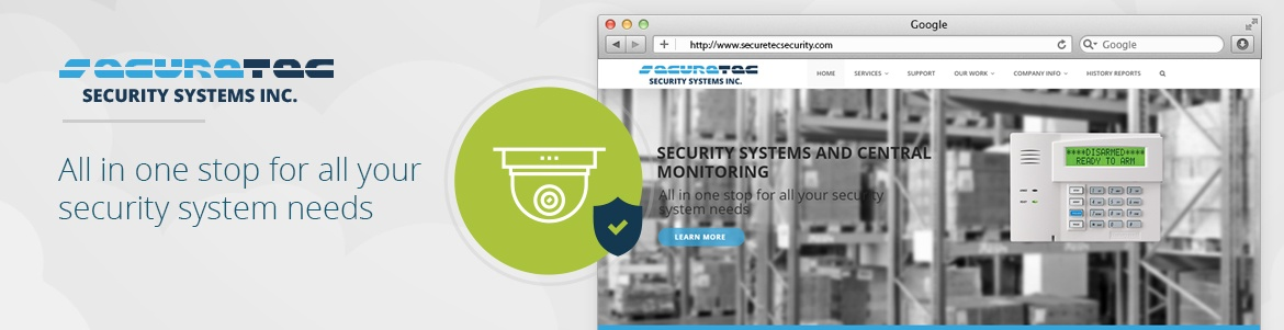 Security Website Design