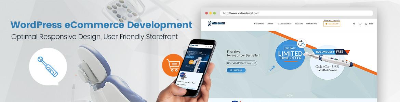 video dental website redesign