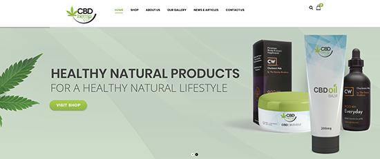 Medical Marijuana Website Design
