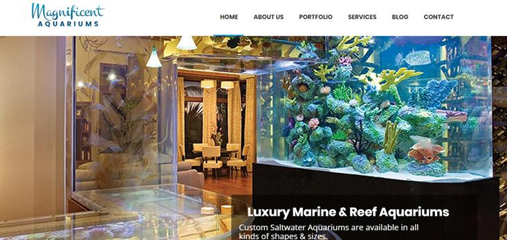 Marine Web Design