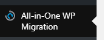 All-in-One WP Migration link