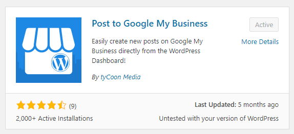 Post to Google My Business - By tyCoon Media